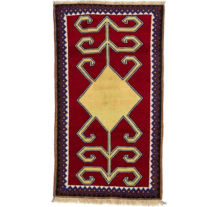 3' 8 x 6' 6 Ghashghaei Persian Rug