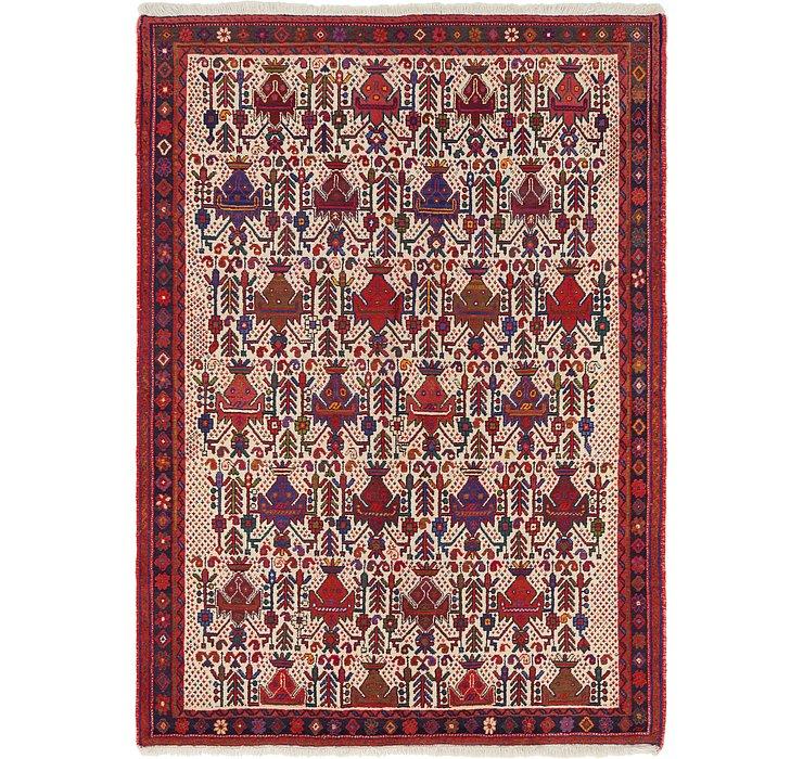 4' 10 x 6' 10 Bidjar Persian Rug