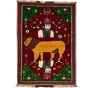 Link to 4' 2 x 5' 9 Ghashghaei Persian Rug