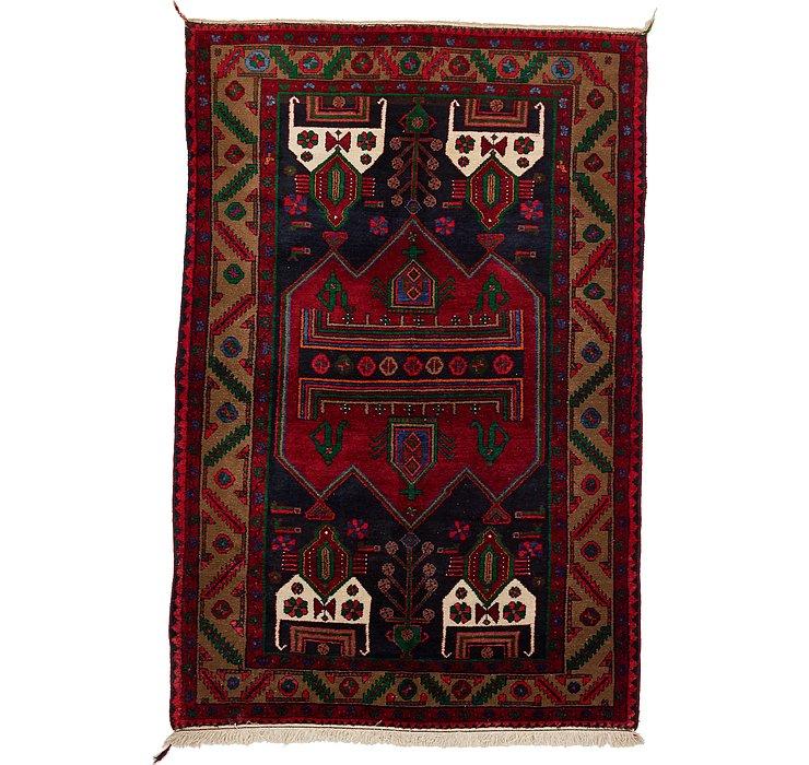 4' 5 x 6' 8 Koliaei Persian Rug