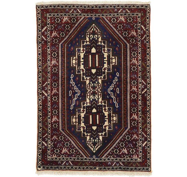 4' 2 x 6' 1 Bakhtiar Persian Rug