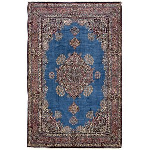 HandKnotted 11' 3 x 17' 9 Kerman Persian Rug