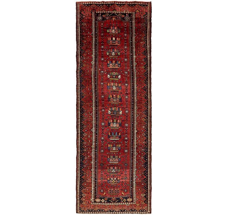 4' 9 x 12' 10 Hamedan Persian Runner ...