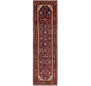 Link to 112cm x 405cm Hossainabad Persian Runner Rug