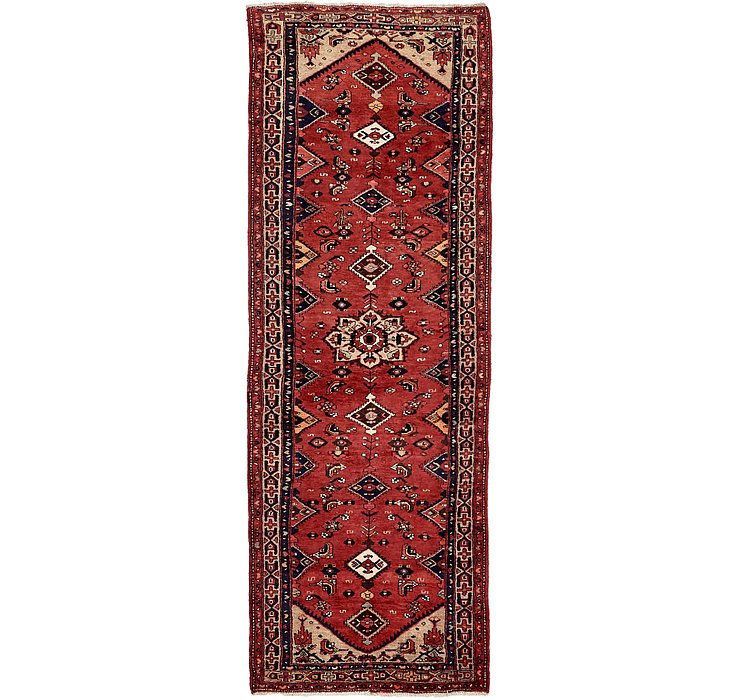 3' 5 x 10' 4 Hamedan Persian Runner ...