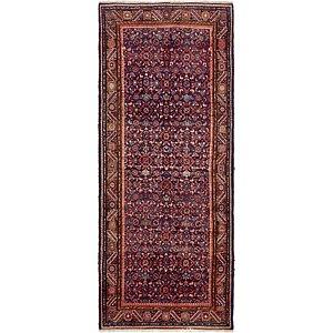 Unique Loom 4' x 9' 5 Hossainabad Persian Run...