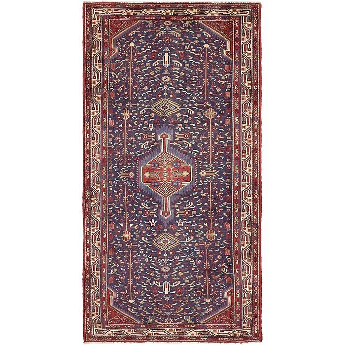 4' 3 x 8' 10 Saveh Persian Runner Rug