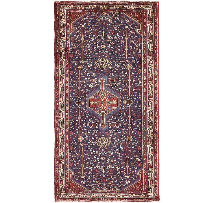 4' 3 x 8' 10 Saveh Persian Runner Rug