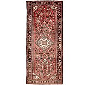 Link to 4' 4 x 10' 3 Hossainabad Persian Runner Rug