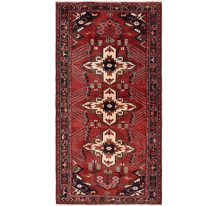 5' x 10' Shahsavand Persian Runn...