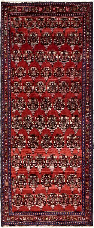 Red 4 2 X 10 7 Sanandaj Persian Runner Rug Persian
