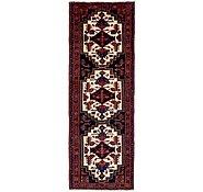 Link to 3' 4 x 10' Zanjan Persian Runner Rug