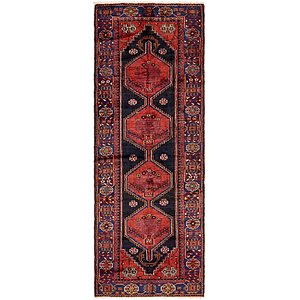 3' 6 x 9' 10 Zanjan Persian Runner Rug