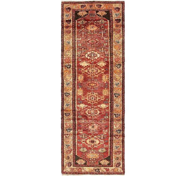 3' 4 x 9' 7 Zanjan Persian Runner Rug