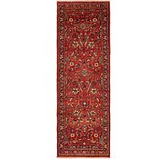 Link to 3' 8 x 11' 5 Sarough Persian Runner Rug