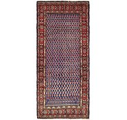 Link to 3' 9 x 8' 8 Hossainabad Persian Runner Rug