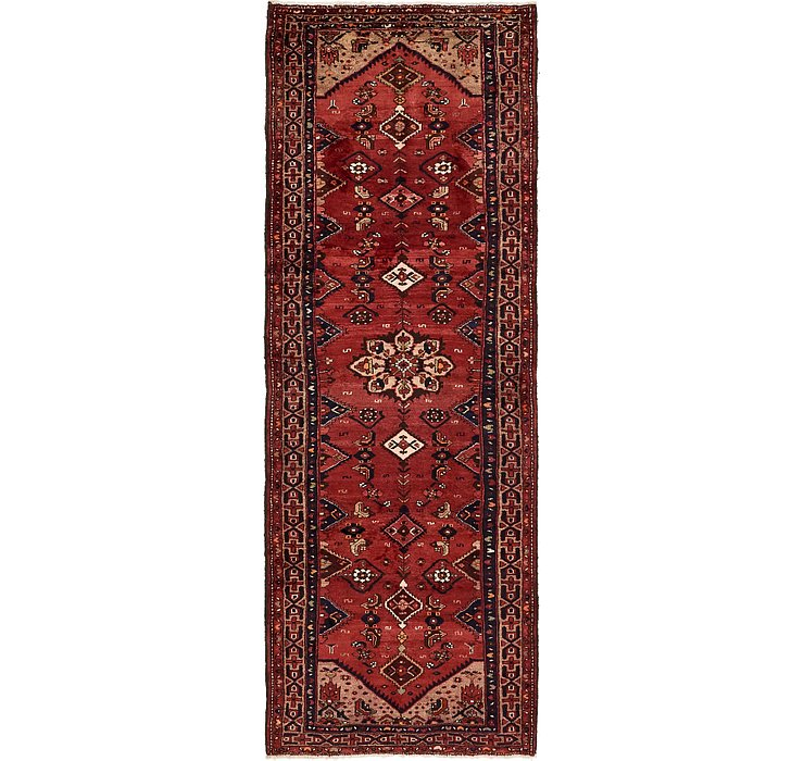3' 8 x 10' 3 Zanjan Persian Runner Rug