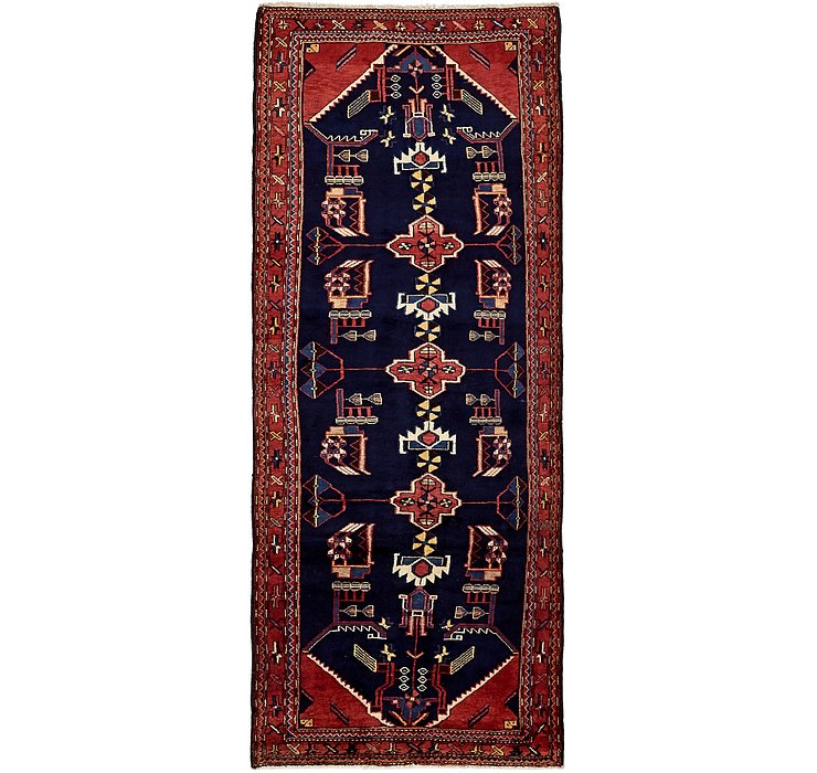 3' 9 x 9' 10 Mehraban Persian Runner...
