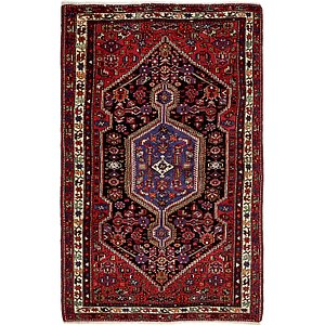 Unique Loom 4' 9 x 8' Zanjan Persian Rug