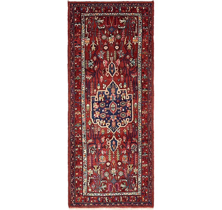 4' x 9' 8 Gholtogh Persian Runner...