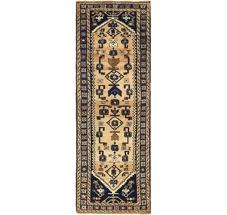 3' 3 x 9' 7 Khamseh Persian Runner ...