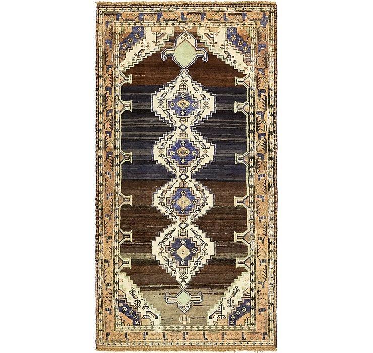 HandKnotted 4' 9 x 9' 4 Shahsavand Persian Runn...