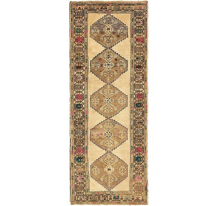 3' 6 x 9' 6 Zanjan Persian Runner Rug
