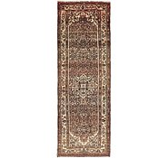 Link to 3' 8 x 11' 4 Hossainabad Persian Runner Rug