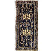 Link to 4' 3 x 9' 9 Shahsavand Persian Runner Rug