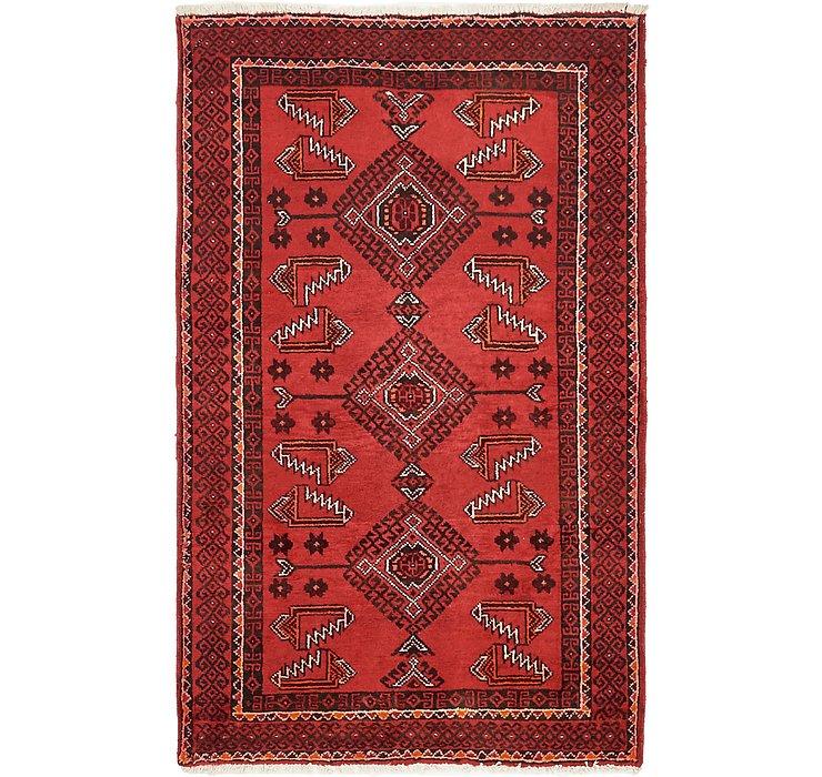 3' 10 x 6' 5 Ferdos Persian Rug