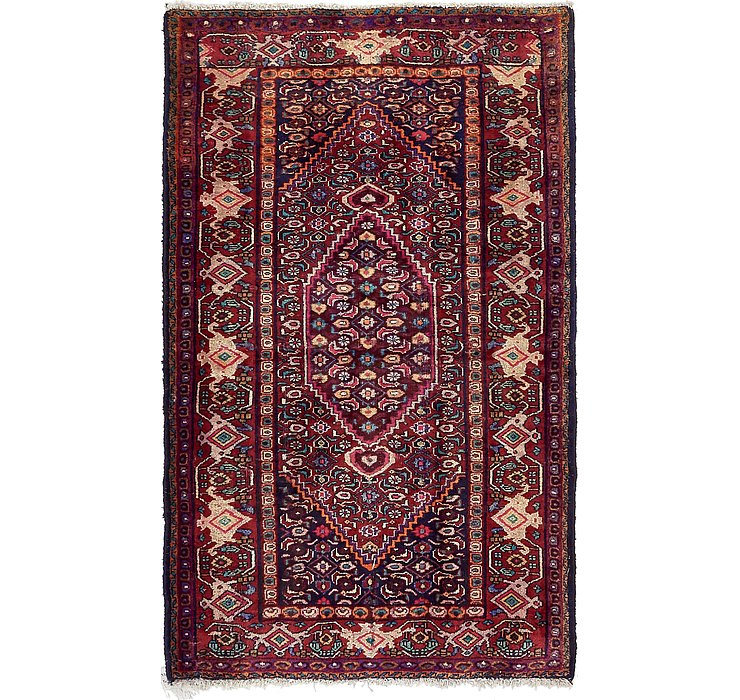 4' 3 x 6' 8 Bidjar Persian Rug
