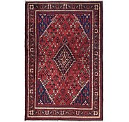 Link to 4' 4 x 7' Joshaghan Persian Rug