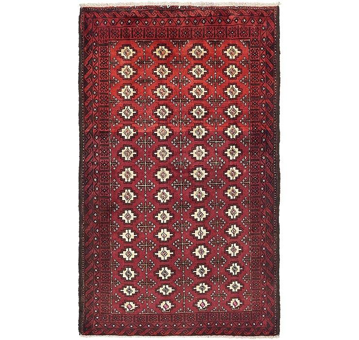 3' 8 x 6' 2 Torkaman Persian Rug