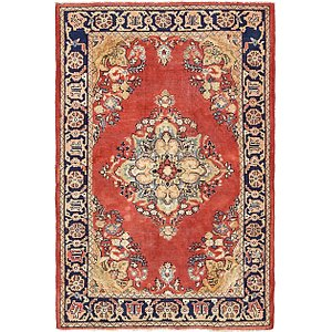 4' 7 x 6' 10 Golpayegan Persian Rug