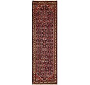 Link to 3' 8 x 13' Hossainabad Persian Runner Rug