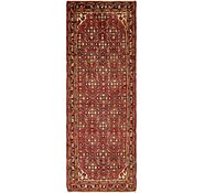 Link to 3' 8 x 10' 8 Hossainabad Persian Runner Rug