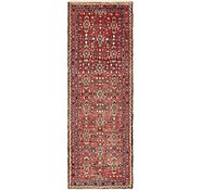 Link to 105cm x 315cm Hossainabad Persian Runner Rug