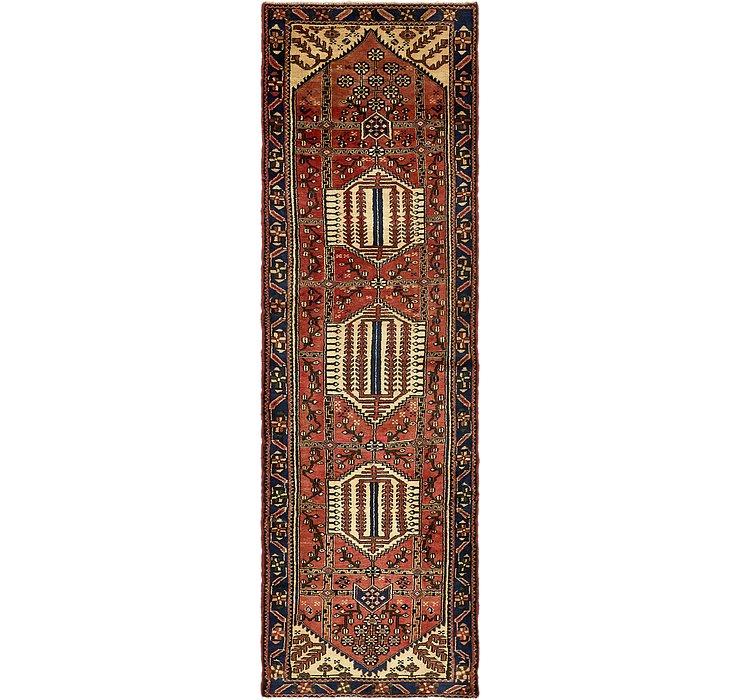 117cm x 390cm Saveh Persian Runner Rug