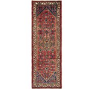 Link to 3' 10 x 11' 9 Hamedan Persian Runner Rug