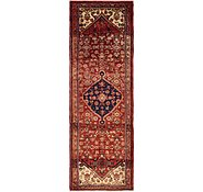 Link to 3' 6 x 10' 4 Hossainabad Persian Runner Rug