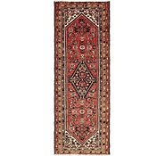 Link to 102cm x 287cm Hossainabad Persian Runner Rug