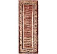 Link to 112cm x 315cm Farahan Persian Runner Rug