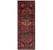 Link to 107cm x 312cm Hamedan Persian Runner Rug