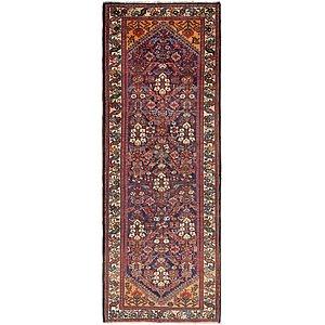 Unique Loom 3' 10 x 11' Hossainabad Persian Run...