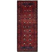 Link to 3' 7 x 9' 7 Hamedan Persian Runner Rug