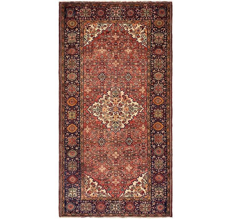 165cm x 312cm Meshkabad Persian Rug