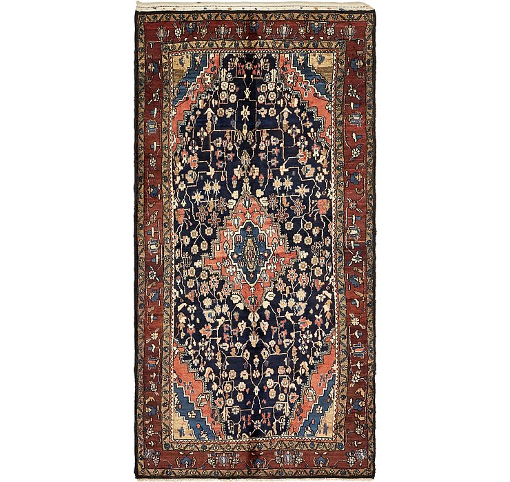 5' x 10' 2 Jozan Persian Runner Rug