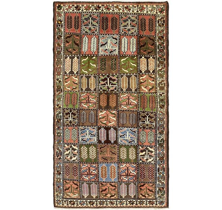 4' 9 x 9' Bakhtiar Persian Rug