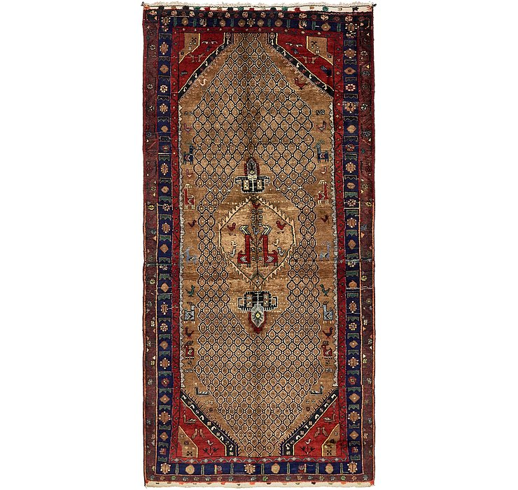4' 10 x 10' 5 Songhor Persian Runner ...