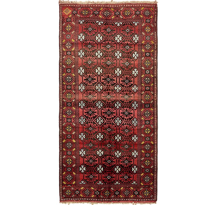 4' 10 x 9' 10 Shiraz Persian Runner Rug